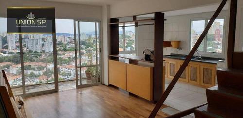 Cobertura Com 2 Dormitórios À Venda, 160 M² - Alto De Pinheiros - São Paulo/sp - Co1781