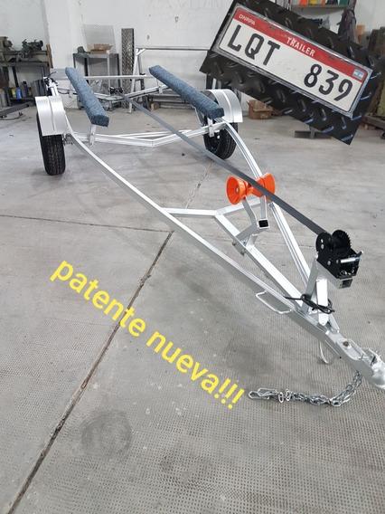 Trailer Para Moto De Agua, Lancha ,jet Sky Patentables