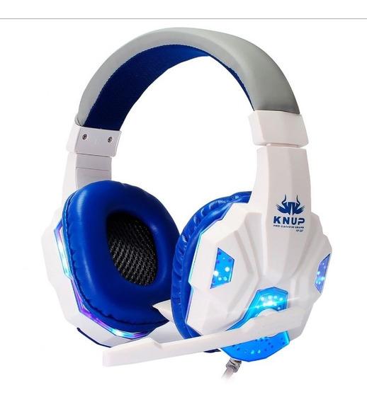 Headset Gamer Pc Knup Kp-397 Super Bass Usb/p2