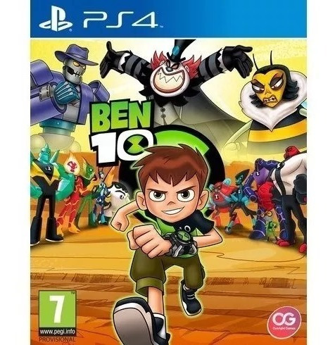 Jogo Ben 10 Original Para Ps4