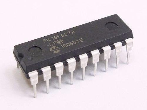 Pic16f627ai Pic16f627 Microchip P-dip18 Nuevos Originales