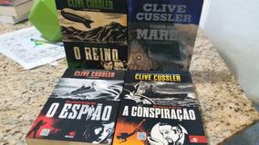Clive Cussler 4 Livros...