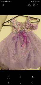 Vestido Da Princesa Menina