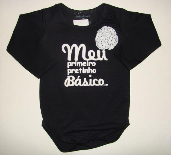 Body Com Frases Para Bebê Menina