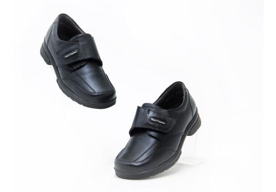 Zapatos Escolar Comodo Bonito Niño Hush Puppies 52252 Negro
