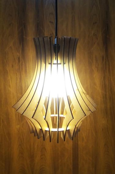 Luminária Pendente C/ Difusor De Luz Removível-frete Grátis