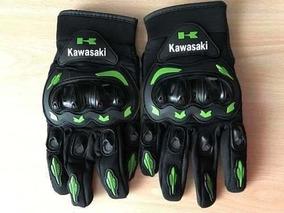 Luva Motociclista Esportiva Kawasaki Protetor + Balaclava