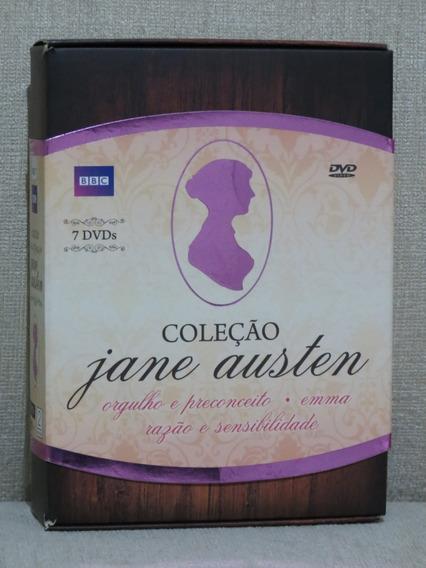 7 Dvds Jane Austen Orgulho E Preconceito Emma Razão Sensibil