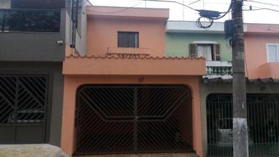 Sobrado Com 3 Dormitórios À Venda, 170 M² Por R$ 630.000 - Conjunto Habitacional Célia - São Bernardo Do Campo/sp - So0460