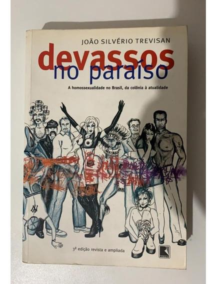 Livro Devassos No Paraíso - João Silvério Trevisan