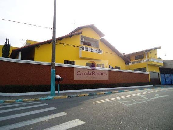 Sobrado Residencial À Venda, Vila Correa, Ferraz De Vasconcelos. - So0219