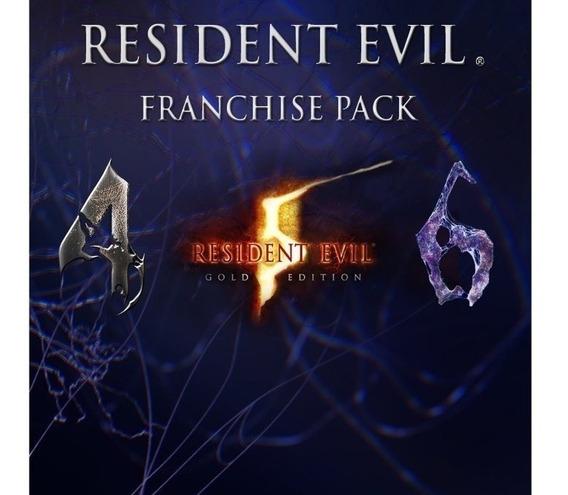 Resident Evil 4 5 6 Franchise Pack Ps3 Midia Digital !!!