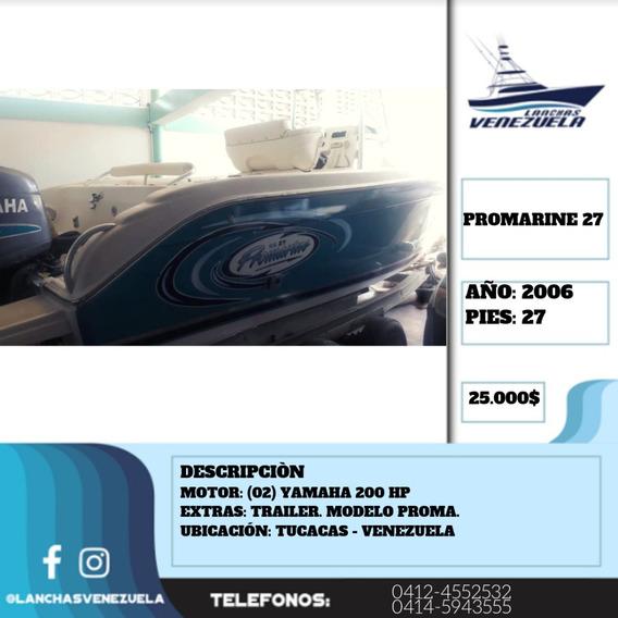 Lancha Promarine 27 Lv349