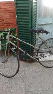 Bicicleta Media Carrera Rodado 28 De Mujer. Huret