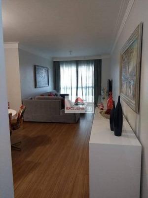 Apartamento Com 3 Dormitórios À Venda, 104 M² Por R$ 665.000 - Urbanova - São José Dos Campos/sp - Ap2199