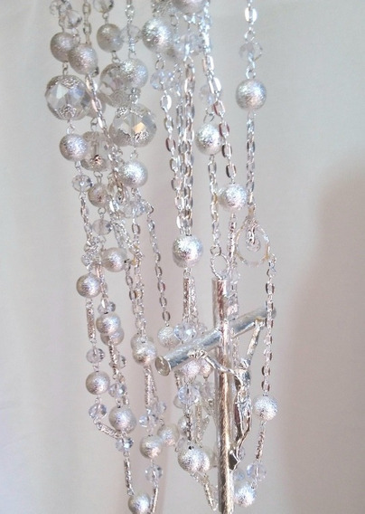 Lazo Para Boda Mancuerna Cristales Vintage Mod L030