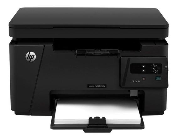 Impressora Hp M125 Funcionando Perfeita Com Toner 83a E Mais Um Toner Reserva
