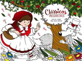 Livro De Colorir P/ Jovens Artistas Clássicos Inesquecíveis