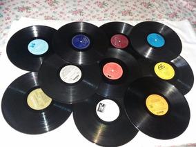 Disco De Vinil Decoração De Festa Anos 80.sem Capa.15 Discos