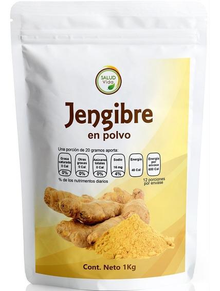 Jengibre Puro Premium En Polvo 1 Kg. Envío Incluido