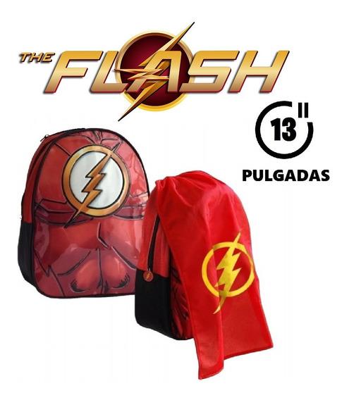 Mochila De Espalda Flash Con Capa 13 Pulgadas Original