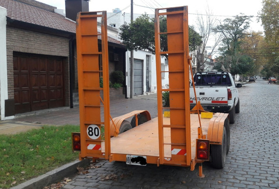 Trailer - Autoelevador - Auxilio - Balancín Para 5000 Kg