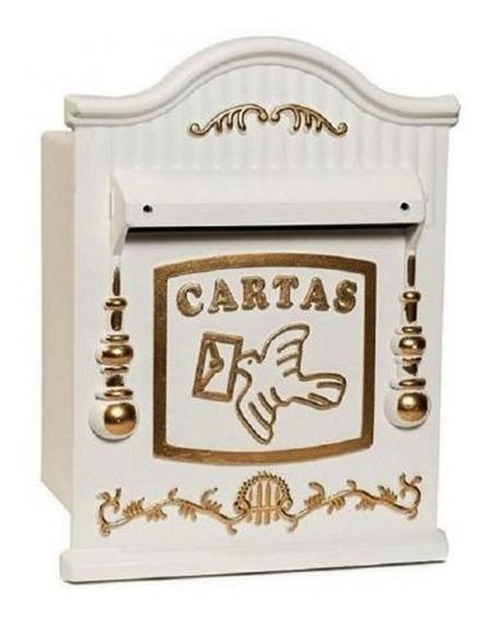 Caixa De Correio Colonial Pvc 26 - Grade Ou Embutir