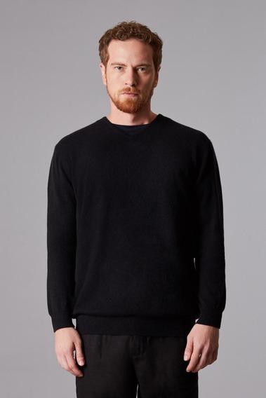 Suéter Tricot Gola V Cashmere Oficina Reserva