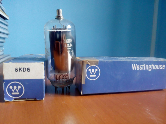 Válvula 6kd6 - Westinghouse (par)