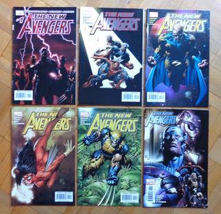 Pacote The New Avengers #01-06 (importado)