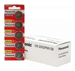 Pilas Cr-2032 Panasonic Caja X100 Undidades Original