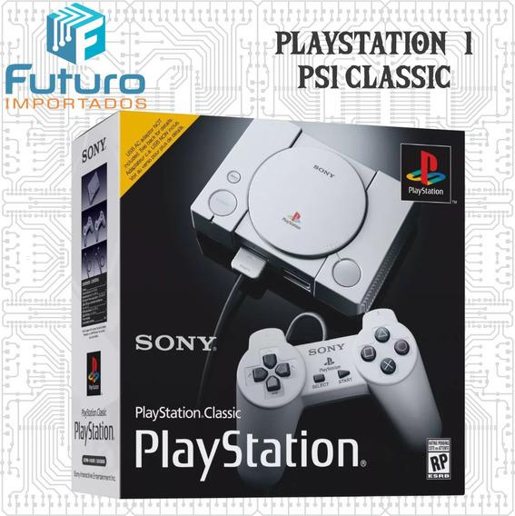 Console Sony Playstation Ps1 Classic Mini Original Com Nota Fiscal Novo Lacrado