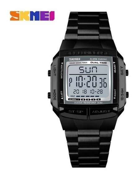 Relógio Skmei 1381 Aço À Prova D