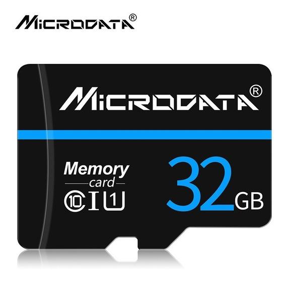 Cartão De Memoria Micro Sd 32gb Com Adaptador Sd Microdata