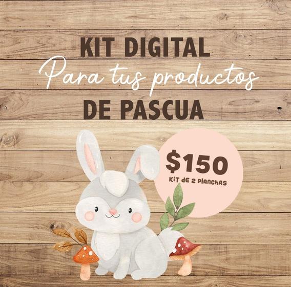 Kit Imprimible Etiquetas Pascuas