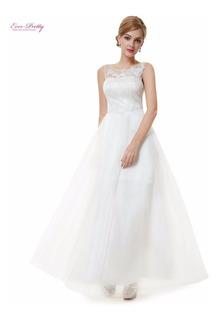 Vestido Noiva Ever Pretty Luxo Importado Pronta Entrega