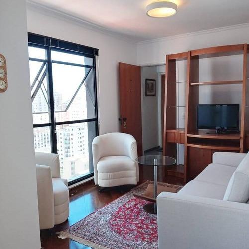 Imagem 1 de 15 de Apartamento Mobiliado Para Aluguel Em Pinheiros Na R. Alves Guimarães - Apm1061