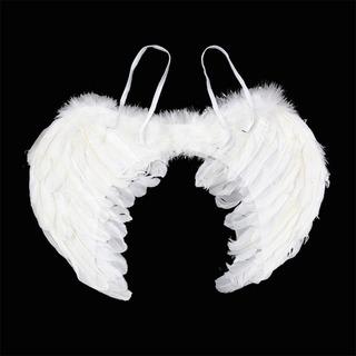 Alas De Ángel Blancas Adulto Halloween K9115