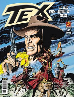 Revista Hq Gibi - Tex Mensal 579 - As Três Letras Do Terror