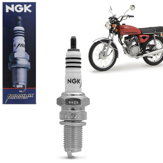 Vela De Ignição Iridium Ngk Honda Ml 125 1983 A 1991 Dr8eix