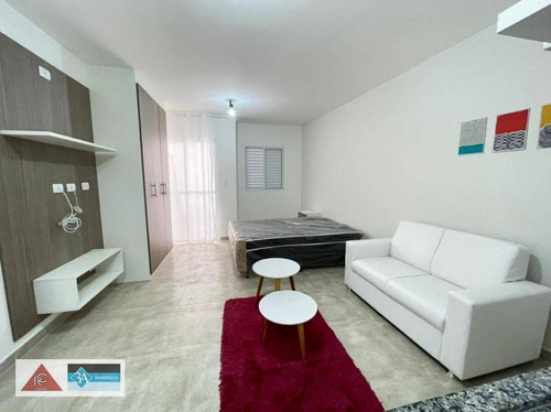 Imagem 1 de 10 de Apartamento Com 1 Dormitório Para Alugar, 35 M² Por R$ 1.800/mês - Tatuapé - São Paulo/sp - Ap6628