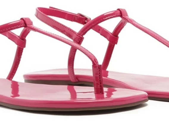 Sandália Anacapri Slim Verniz Pink #180