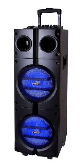 Caixa Amplificada Trc 1000 1000w Rms Bluetooth Usb