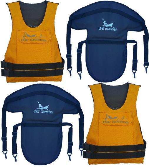 Chaleco Con Bolsillo Y Asiento Kayak X 2 Emp Nautica Hs