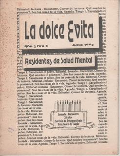 La Dolce Evita Año 2 Nº 3 Ed. La Dolce Evita Junio De 1992