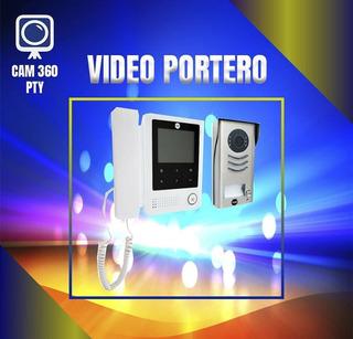 Timbre Con Video Portero