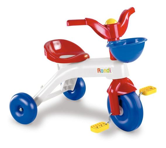 Triciclo Plastico Rondi 3000 Alta Resistencia Multicolor