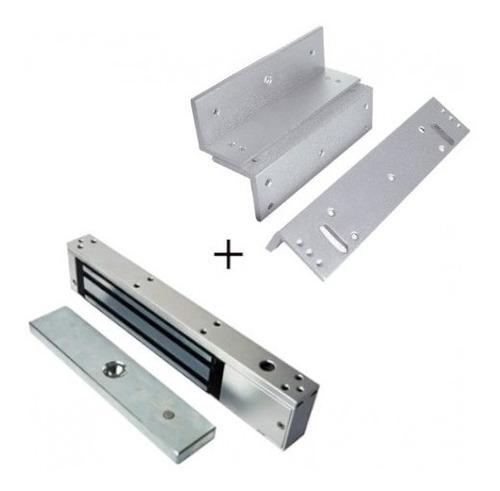 Cerradura Electromagnética 350 Libras Siera + Soporte Zl