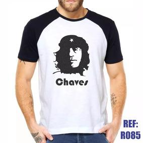 Camisa Raglan Chaves Che Guevara Série Estilo Swag Thug Li C