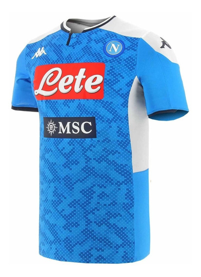 Camisa Napoli Azul 19/20 - Pronta Entrega